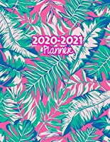 2020-2021 Planner: Two Year Calendar Organizer and Goal Journal | January 2020 - December 2021 Daily, Weekly and Monthly Planner Book with Back Sticker Expression Wall for 2 Years | Design Code 679919