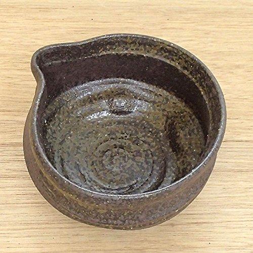 冷酒器(片口) 朱唐津 黒 美濃焼