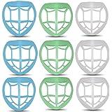 [10個セット] メイクキープフレーム 化粧崩れ防止 ひんやりプラケット Tiva 水洗い対応 柔らかい 超快適 繰り返…