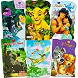 Disney Baby Toddler Beginnings Board Books Super Set (Set of 6 Toddler Books - Aladdin, the Aristocats, Peter Pan, the Jungle Book, Lady and the Tramp and Alice in Wonderland)