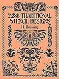 2,286 Traditional Stencil Designs (Dover Pictorial Archive) (English Edition) 画像