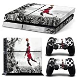 ジョーダン CAN? Ps4 Console Designer Protective Vinyl Skin Decal Cover for Sony Playstation 4 & Remote Dualshock 4 Wireless Controller Stickers - Flying Man Jordan Style by CAN [並行輸入品]