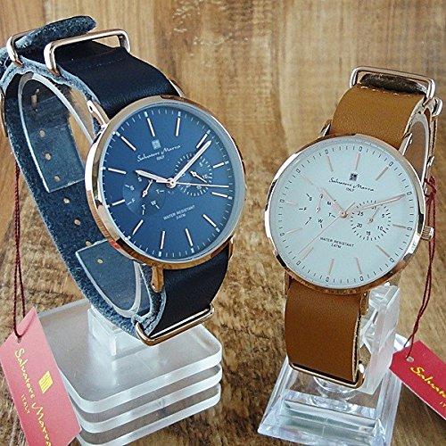 [サルバトーレマーラ]Salvatore Marra 腕時計 ペアウォッチ -SM15117-PGNVPGSM15117-PGWHPG 2本セット レディース メンズ[国内正規品]