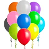 144 Pack Party Balloons, 12 Inch Premium Assorted Balloons, Colorful Thickened Latex Balloon Set, Perfect Decoration for Part