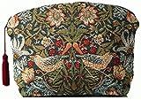 フランス製 【ART de LYS】 William Morris 8462 Strawberry Thief (いちご泥棒) ゴブラン織りポーチ