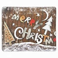 メリークリスマス マウスパッド 滑り止め マウス用パット ゲーミング 耐久性 約(25cm X 30cm) マウス パッド