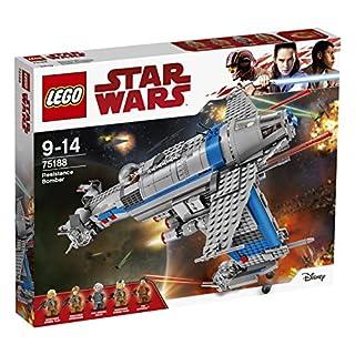 LEGO Star Wars Resistance Bomber 75188 Playset Toy (B06W2KC4J5) | Amazon price tracker / tracking, Amazon price history charts, Amazon price watches, Amazon price drop alerts