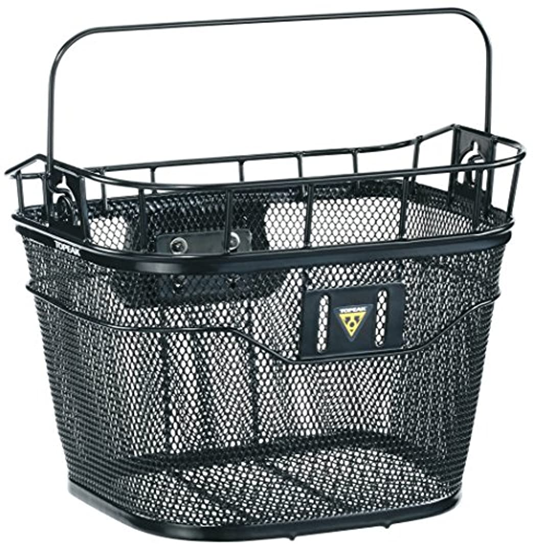 女性擬人タンザニアTopeak Front Basket - Black, One Size by Topeak