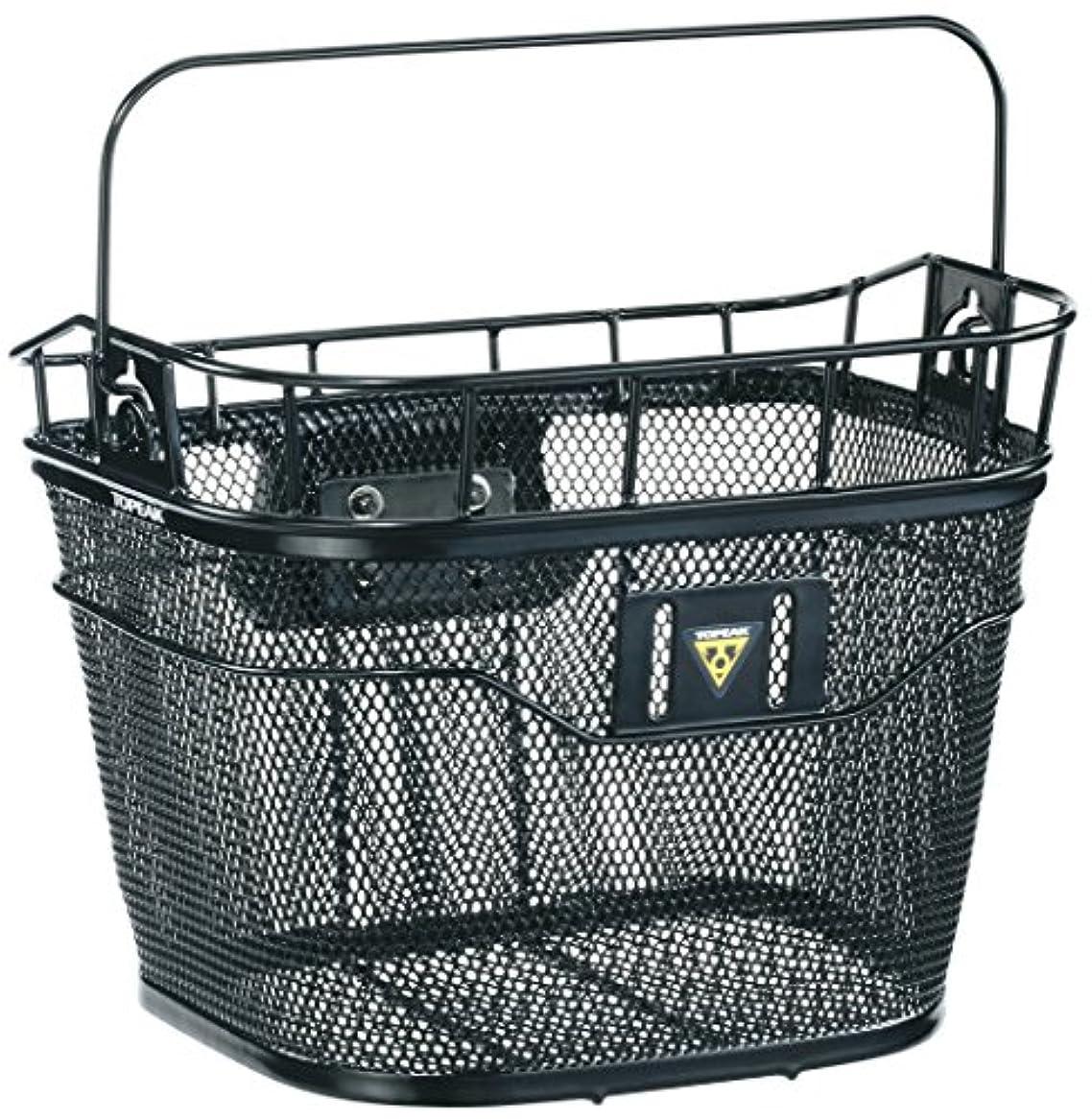 胸リード悲惨Topeak Front Basket - Black, One Size by Topeak