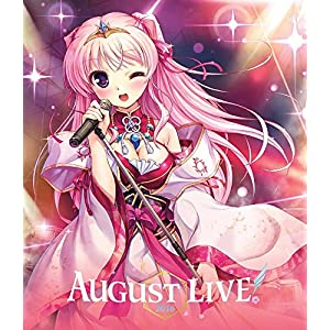 AUGUST LIVE! 2016 Blu-ray & DLCard