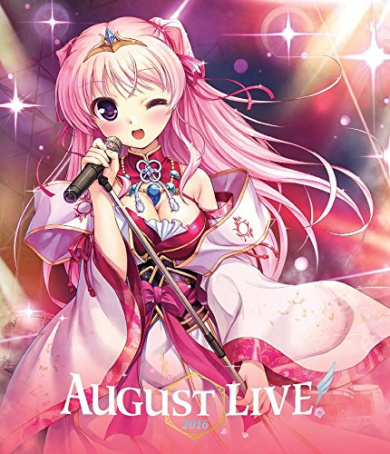 AUGUST LIVE! 2016 Blu-ray & DL...