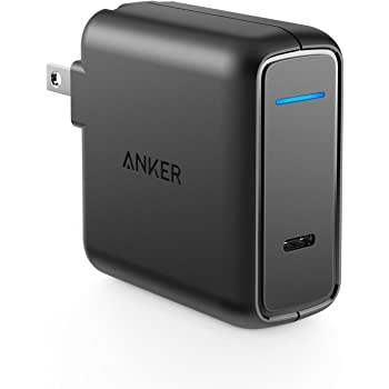 Anker PowerPort Speed 1 PD30 (30W USB-C 急速充電器)【PSE認証済/折りたたみ式プラグ/急速充電/Power Delivery】Galaxy S9, Xperia XZ1 その他USB-C機器対応