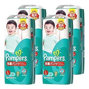 【ケース販売】 パンパース おむつ Lサイズ (9~14kg) 卒業パンツ 144枚 (36枚×4パック)