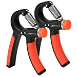DaZone Hand Grip Exerciser, Adjustable Hand Grip Exerciser, Hand Gripper Exerciser Forearm Strength Training - Beginner...
