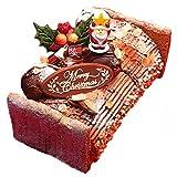 クリスマスケーキ 2017 ブッシュドノエル 濃厚ダブルチョコのブッシュドノエル ギフト プレゼント