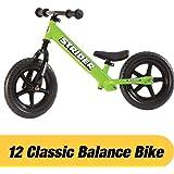 12 Classic No-Pedal Balance Bike (Green)