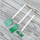 [REDECKER/レデッカー]子供用ガーデニングツール3点セット(グリーン)