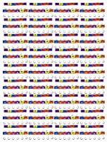 "75"" Smiley FaceバインダークリップAdorable面with 2つ異なる式、5つの異なる色。"