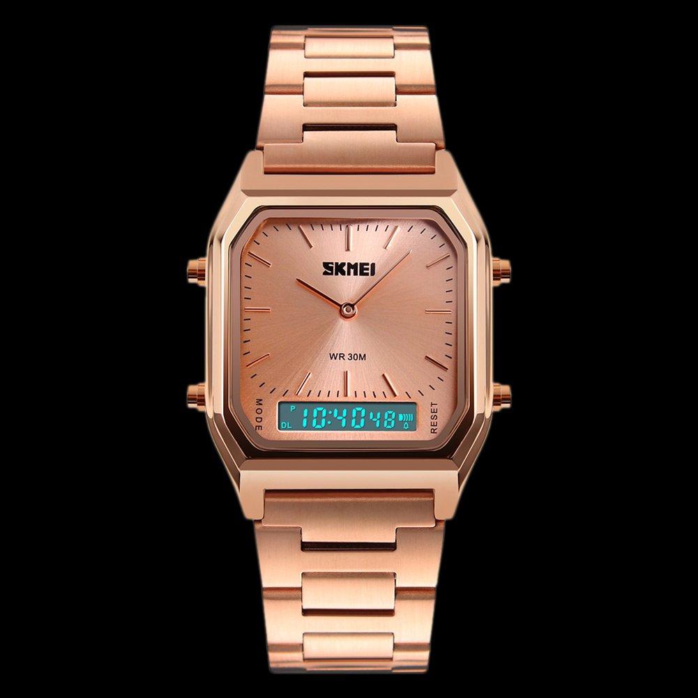 6b985f1bbe Rockyu ブランド メンズ 時計 男女兼用 オシャレ 防水 サファイアガラス 海外ブランド メンズ腕時計