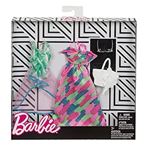 Barbie Fkt27 Complete Looks Fashions Assorted, 2 Pack
