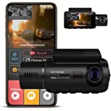 Rexing V3 Basic Dual Camera Front and Inside Cabin Infrared Night Vision Full HD 1080p WiFi Car Taxi Dash Cam with Supercapac