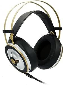 Visenta (ビセンタ) ヘッドホン 高音質 【ドイツEGON CHEMAITIS氏設計】 HiFi対応 オーバーヘッド型 密閉型(クローズド型) ヘッドフォン 高デザイン性 ヘッドセット マイク付 ブラック