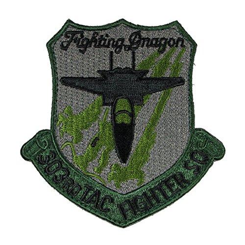 [해외]자위대 상품 문장 코마츠 기지 제 303 비행대 로우 비주얼 패치 벨크로 부착/Self Defense Force Goods Patch Komatsu Base No. 303 Squadron Low Visual Patch Velcro