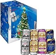 【クリスマスギフト】アサヒスーパードライ4種バラエティミラースリーブセット(SD-MT) [ ビール 350ml×8本 ] [ギフトBox入り]