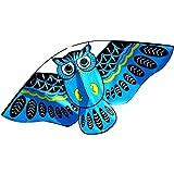 XNTBX Owl Ainimal Kite Single Line Breeze Outdoor Fun Sports for Kids Kites