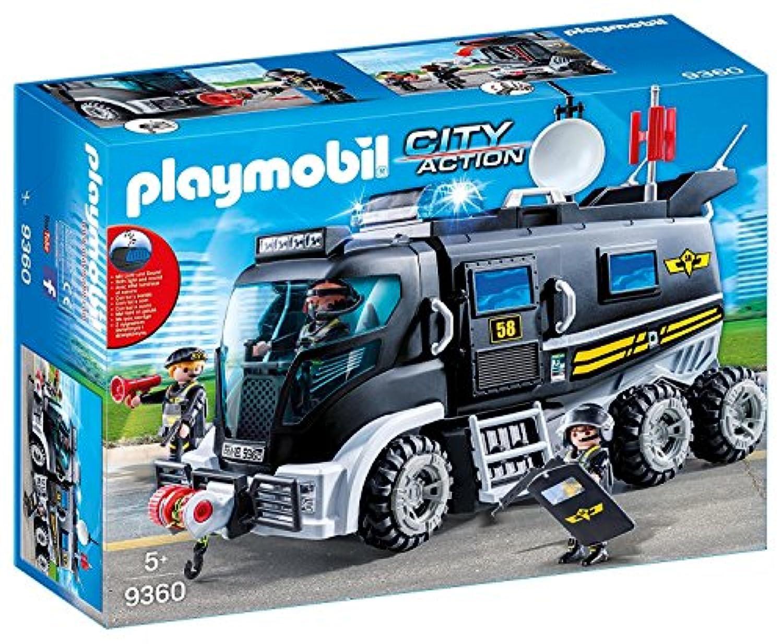 PLAYMOBIL プレイモービル 特殊部隊 と 装甲車 9360 [並行輸入品]