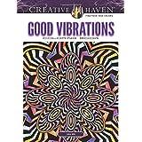 Creative Haven Good Vibrations Coloring Book