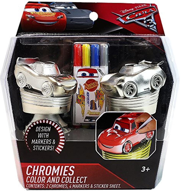 ディズニーピクサー カーズ クロスロード クローミーズ Disney Pixar Cars 3 Chromies Color N Collect Activity Playset