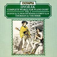 Dvorak:Comp.Piano Duets V.2