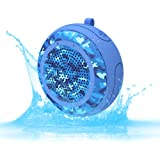 CYBORIS IPX7 Waterproof Outdoor Bluetooth Speaker Swimming Pool Floating Portable Mini Speakers Wireless 5W with Microphone &