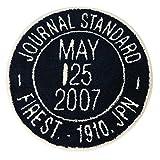 journal standard Furniture JSF STAMP RUG NAVY