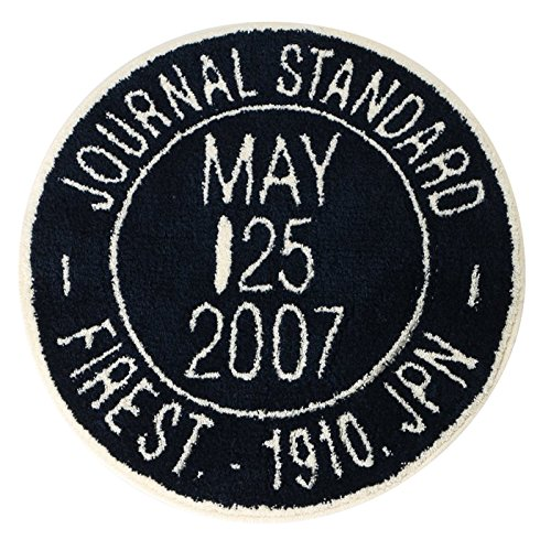 journal standard Furniture JSF STAMP RUG NAVY