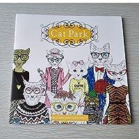 [koneko]心を整える、ぬりえBOOK 心やわらぐ 塗り絵 (Cat Park)