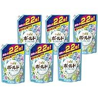 【ケース販売】 ボールド 洗濯洗剤 液体 アクアピュアクリーンの香り 詰め替え 1580g×6個