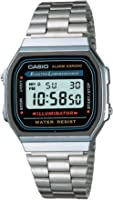 Casio Silver Vintage Series A168Wa-1 Watch
