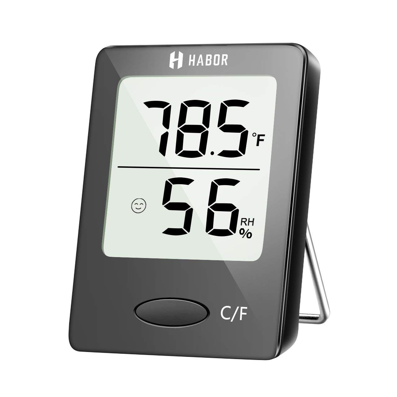 Large 40cm Indoor White Outdoor /°C /& /°F Wall Thermometer