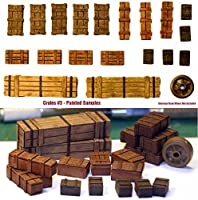 AFV積荷 木箱セット#3 1/35 汎用各国 [CR003] Generic/Universal  Wooden Crates #3