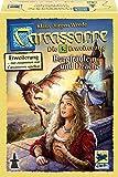 カルカソンヌ:王女とドラゴン 拡張セット3 (2016年版) Carcassonne Erweiterung 3. Burgfraulein und Drache (2016 Edition) [並行輸入品]