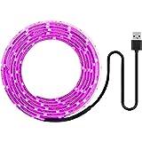 植物育成ライト LEDテープ 植物テープ用 種子植物花温室屋内野菜花苗 LEDグローライト USBグローライトストリップ0.5M 2835 SMD DC5V LED