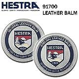 HESTRA(ヘストラ) ヘストラ スキーグローブ用グローブオイル 91700  LEATHER BALM ●2個セット レザークリーム  レザーバーム  hestra スキーグローブ