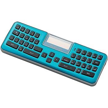 【2012年モデル】ELECOM コンパクトBluetoothキーボード 通話・リモコン対応 ブルー TK-MBD041BU