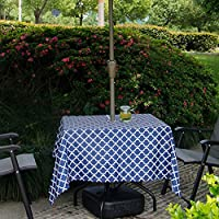 PROKTH テーブルクロス 防水 撥水 ファスナー付き ティーテーブ クロス 食卓カバー コットン 田園風 撮影背景 天然素材 食卓カバー おしゃれ 家庭 アウトドア用
