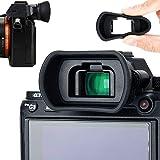 Soft Silicon Camera Viewfinder Eyecup Eyepiece for Sony Sony A7RIV A7RIII A7RII A7III A7II A7 A7R A7S A7SII A9II A9 A58 A99II