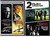 4 Film Collection Clint Eastwood True Crime/Absolute Power + Trouble with The Curve & Million Dollar Baby DVD Feature movie set [並行輸入品]