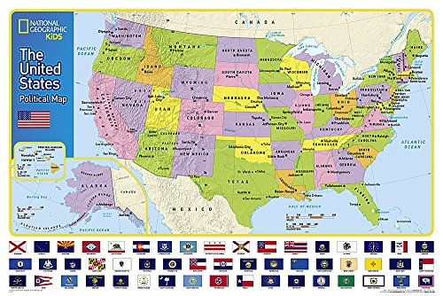 Download The United States for Kids (National Geographic Reference Map) 159775630X