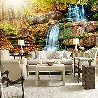 Xbwy カスタム3Dウォール壁画写真壁紙風景用壁自然秋風景寝室3D Hd大壁画壁紙Tv背景-250X175Cm